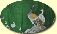 click to see detail about Handpainted silk fabrics